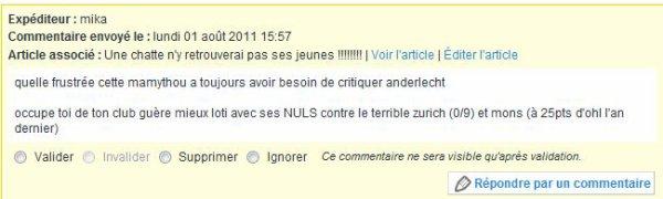 En français !!!! c'est quoi ???