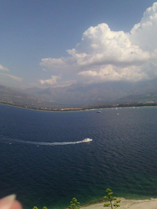 La mer en Corse