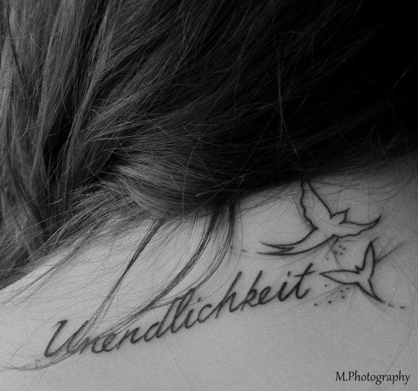 #_Mon Tattoo :: UNENDLICHKEIT ♥
