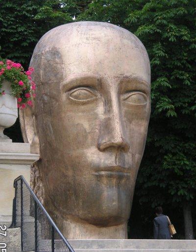 Le prophète par Louis DERBRE sculpteur (www.derbre.com)