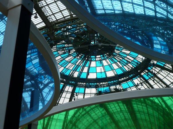 Daniel BUREN Monumenta 2012 Paris Grand Palais 10/05 au 21/06
