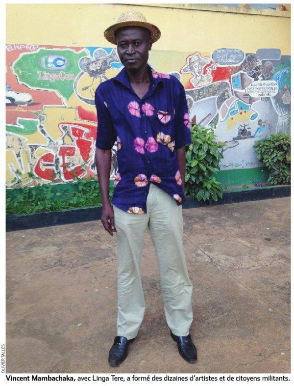 Un artiste au combat en Centrafrique