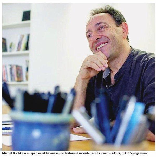 Michel Kichka.  Le dessin qui libère