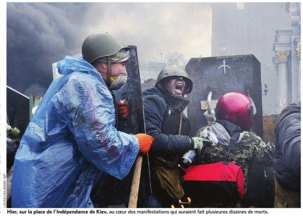 Derrière le soulèvement populaire, un combat pour l'identité ukrainienne