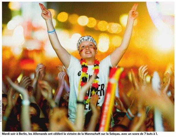 Coupe du monde: Demi-finale Brésil Allemagne