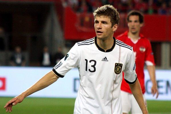 Les joueurs de l'équipe d'Allemagne