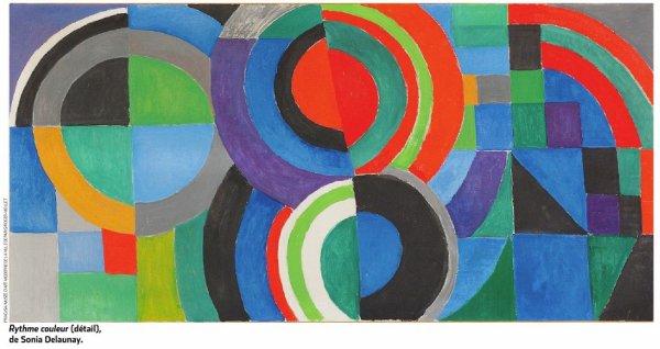 Expo. Sonia et Robert Delaunay  au Musée d'art moderne et au centre Pompidou à Paris
