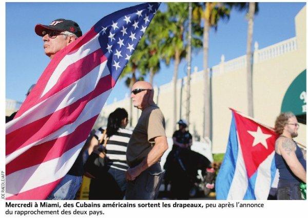 Cuba et Etats-Unis, un nouveau départ