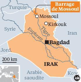 Le barrage de Mossoul