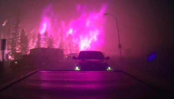 L'incendie de l'Alberta, parabole de l'époque