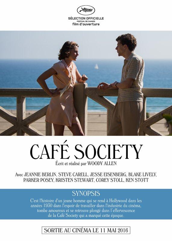 Café Society ** de Woody Allen Film américain, 1 h 36