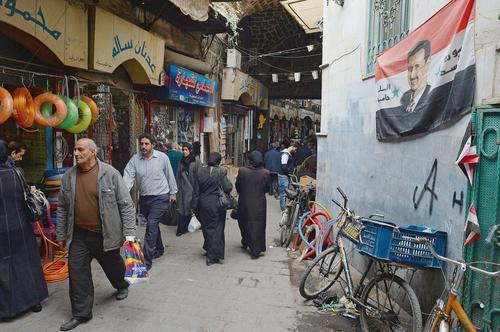 A Damas, une vie corrompue par la guerre