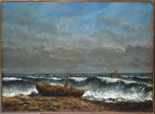 Courbet, précurseur des impressionnistes