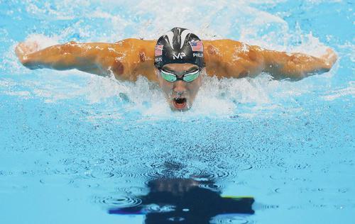 Michael Phelps, un revenant en forme vraiment olympique