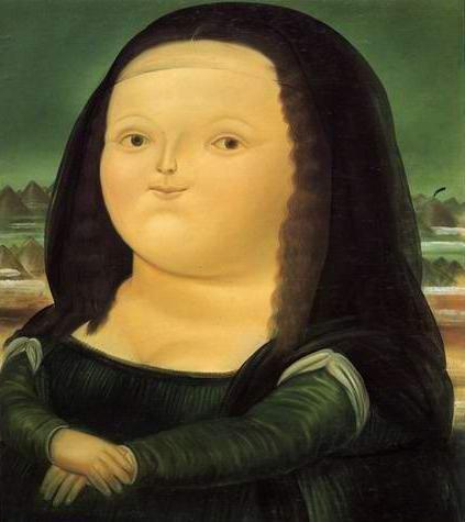 La Joconde selon Fernando Botero