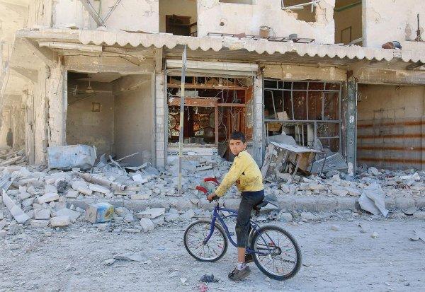 Les habitants d'Alep-Est pris à un double piège