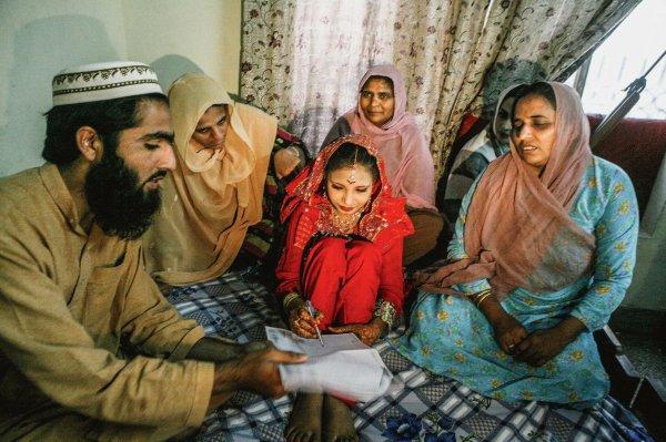 Mariages forcés, une réalité mondiale