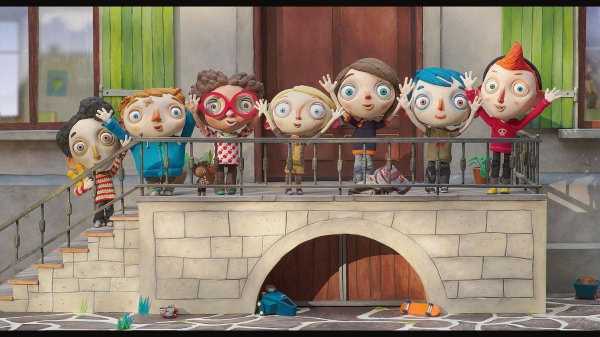 Ma vie de Courgette **** de Claude Barras Film d'animation franco-suisse, 1 h 06