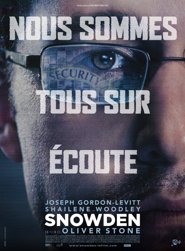 Snowden ** d'Oliver Stone Film américain, 2 h 14