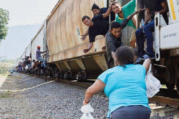 Au Mexique, au côté des migrants