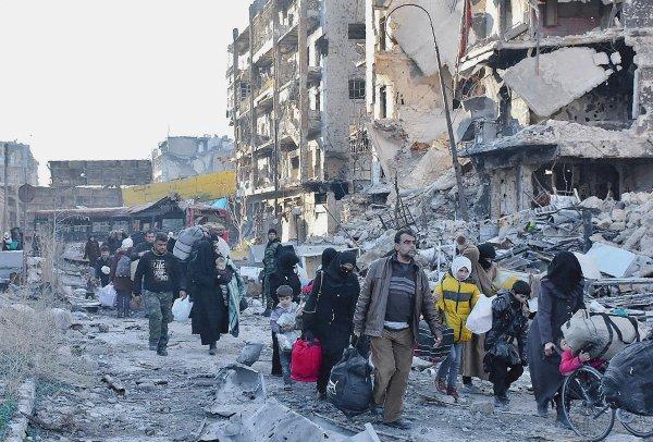 Les civils ballottés entre l'est et l'ouest d'Alep