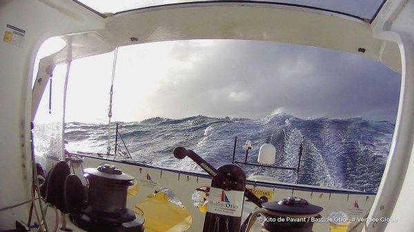 Des skippeurs vent debout
