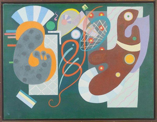 Kandinsky. Les années parisiennes (1933-1944) Musée de Grenoble