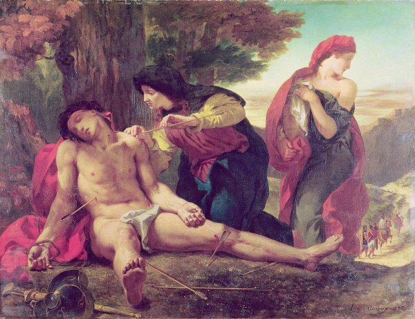 Saint Sébastien soigné