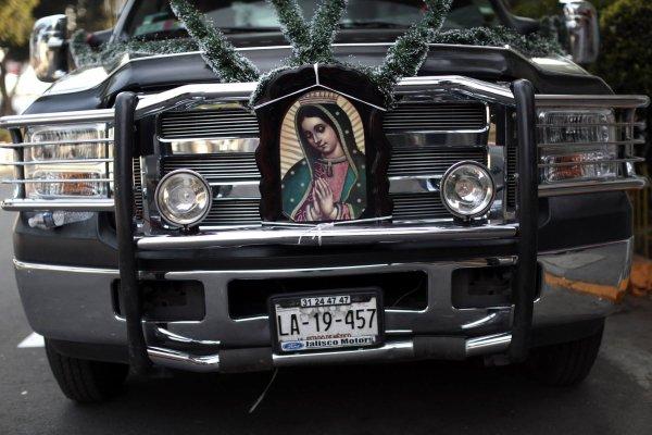 Notre-Dame de Guadalupe, Sainte patronne de Mexico