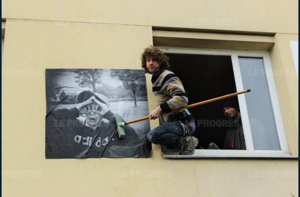 A Vénissieux, des ados immortalisent leur quartier