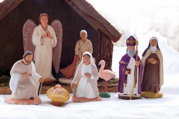 Emmanuel Fouque, santonnier guidé par la foi