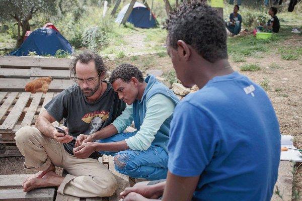 Dans la vallée de la Roya, les migrants trouvent refuge