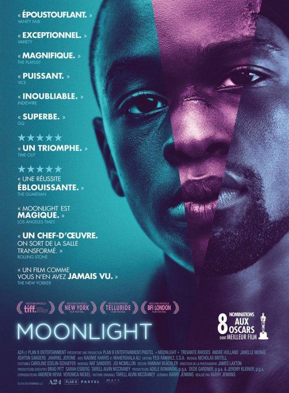 Moon light de Barry Jenkins 1h51 sortie en salle le 1er février 2017