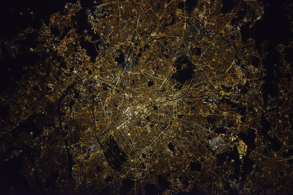 Paris vu de l'ISS