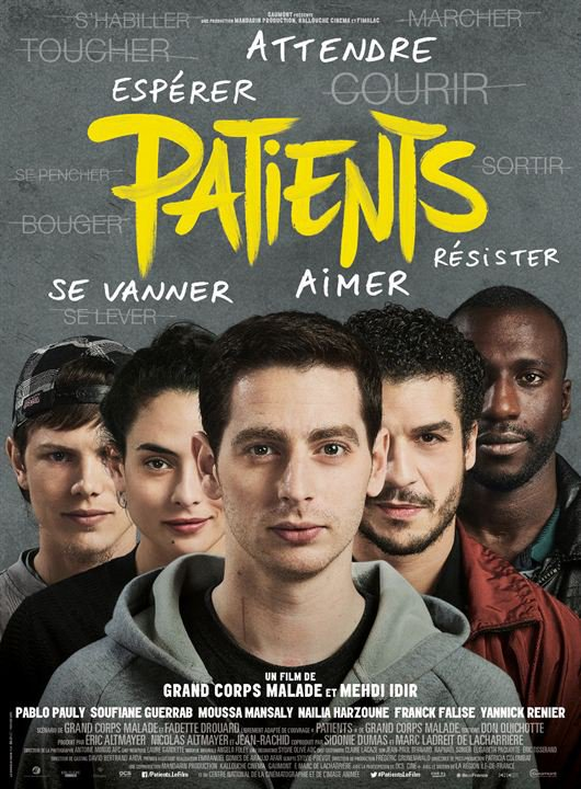 Patients *** de Grand Corps Malade et Mehdi Idir Film français, 1 h 50