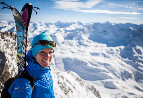 Laetitia Roux, reine des neiges