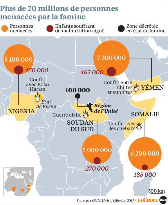 La famine frappe à nouveau l'Afrique