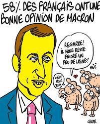 Emmanuel Macron, pas du jeu  Portrait par Laurence Cossé