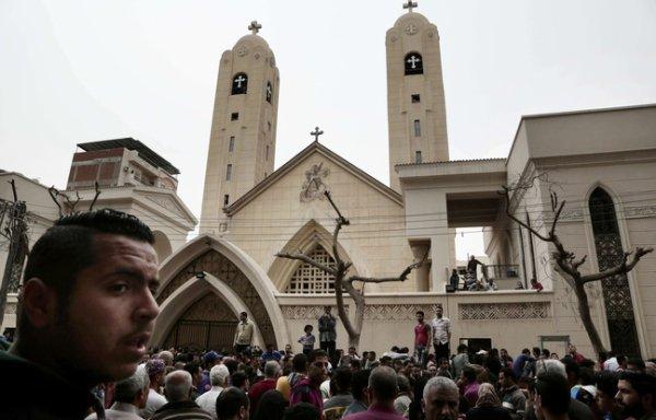 Les chrétiens d'Egypte frappés le jour des Rameaux