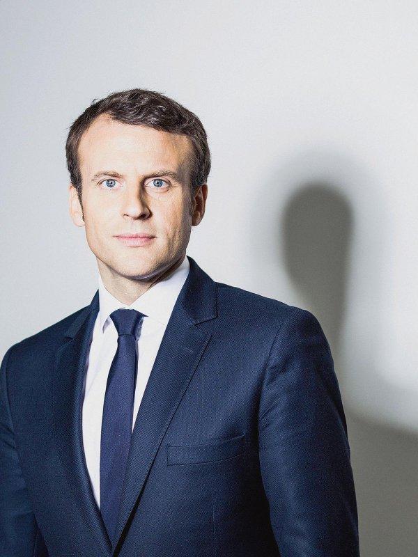 Emmanuel Macron. Portrait