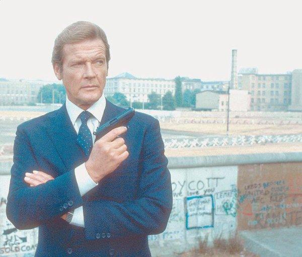 Roger Moore, l'espion que nous aimions