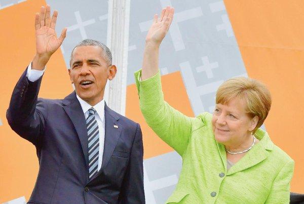 A Berlin, Obama appelle les jeunes à s'engager