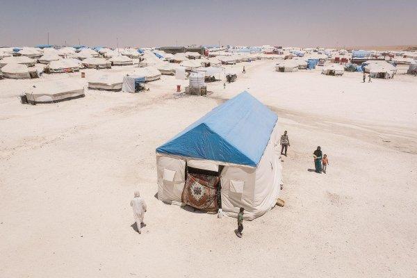 Au camp d'Aïn Issa, les « damnés de Rakka »