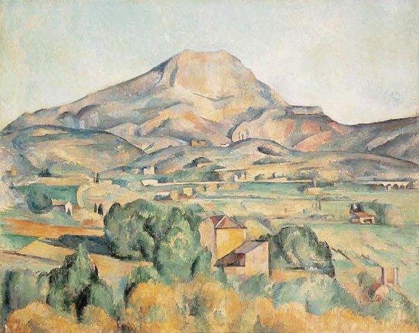Cézanne, par petites touches