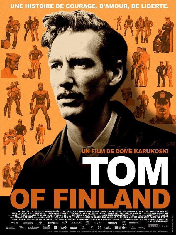 Tom of Finland ***  de Dome Karukoski  sortie  le 19 juillet 2017 (1h 56min)