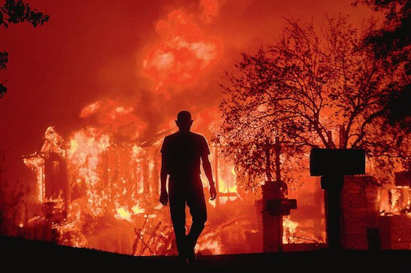La Californie en feu