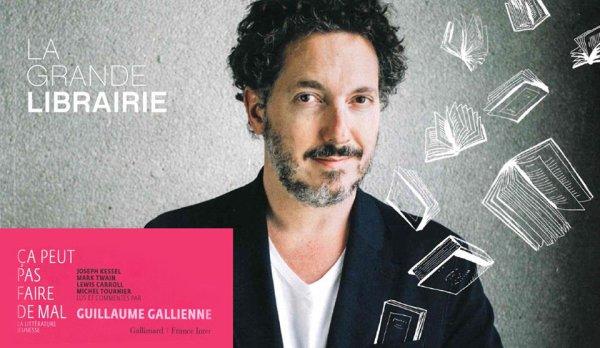 François Busnel La grande librairie 23 novembre 2017