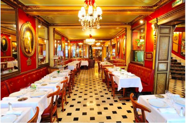 Quelque beaux cafés anciens de Paris