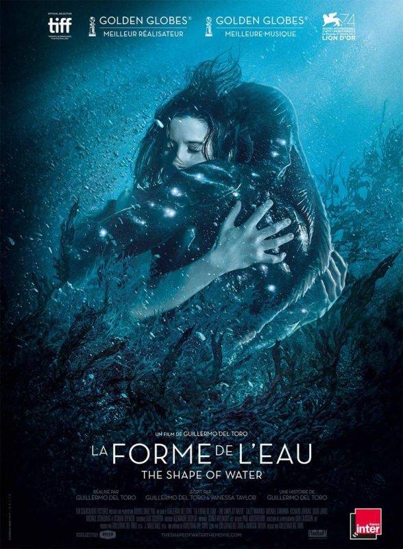 La Forme de l'eau **  De Guillermo del Toro  Film américain, 2 h 03