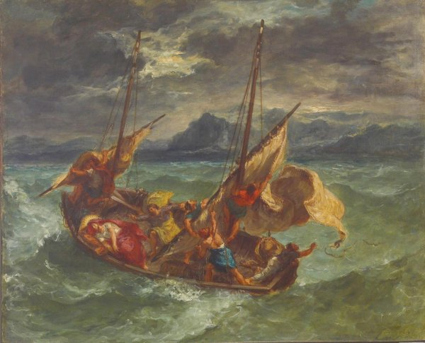 Delacroix, glorieux et tourmenté